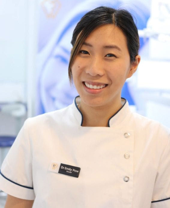 Dr. Emily Pow - Dentist at The Finetooth Company in Croydon