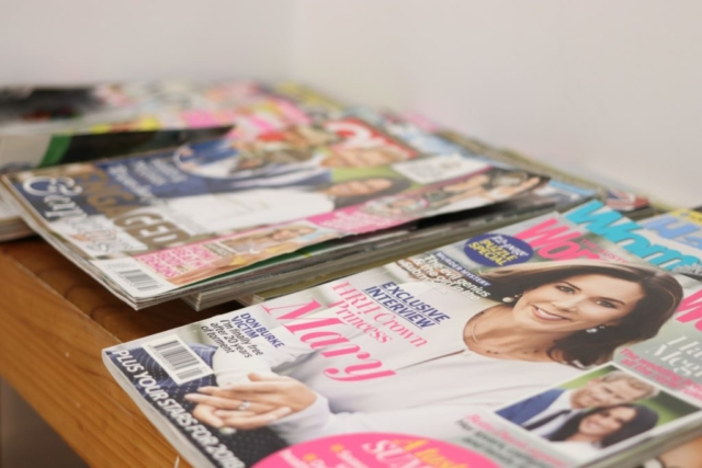 Magazines for our patients